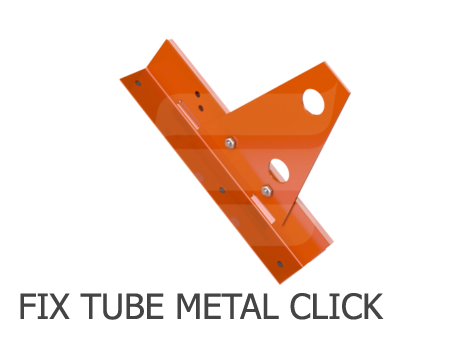 Eurovent FIX TUBE METAL CLICK