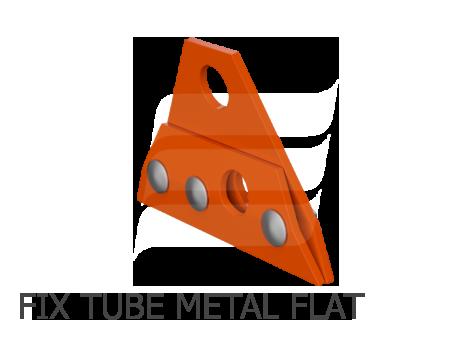 Eurovent FIX TUBEMETAL FLAT